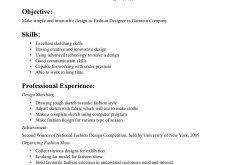 Fashion Resume Examples by Fashion Design Student Resume Design Resume Template Fashion