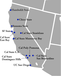 Cal Poly Pomona Map File Ccaa Map Current Members Svg Wikimedia Commons