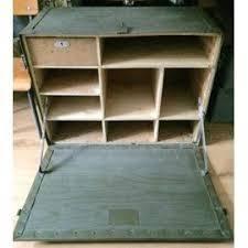 bureau militaire bureau de cagne militaire armée française mobilier industriel