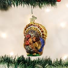 amazon com old world christmas tom turkey glass blown ornament