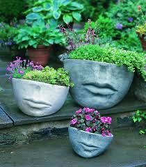 face planters inside out create an inviting outdoor space with weather