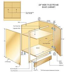 Kitchen Cabinets Plans Building Base Cabinets U2013 Part 3
