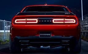 Dodge Challenger Tail Lights - 2018 dodge demon
