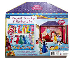amazon com my princess dollhouse 3 wooden magnetic characters