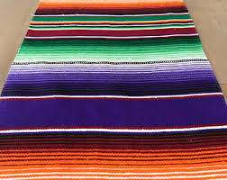 Serape Table Runner Etsy Your Place To Buy And Sell All Things Handmade