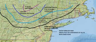 Snow Forecast Map Snow Forecast Noreaster 01232017 Weather Updates 24 7 By