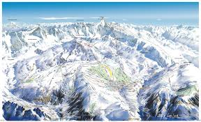Colorado Ski Areas Map by Alpe D U0027huez Piste Maps