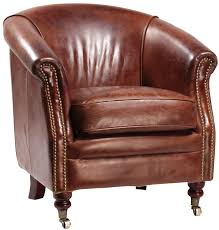 Leather Armchairs Vintage Leather Club Chair Antique