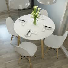 Black Round Dining Room Table Eames Style Dsw White Round Dining Table