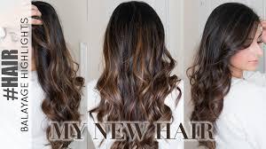 hair colour trands may 2015 balayage highlights on dark hair my new hair colour 2016 ysis