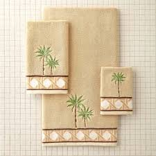 Palm Tree Bathroom Rugs by Better Homes And Gardens Palm Cove Bath Towel Collection Walmart Com