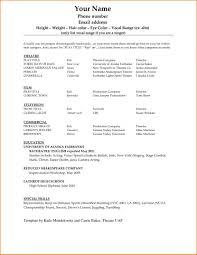 Student Resume Sample Ravishing 10 How To Write A Simple Resume Sample Budget Template