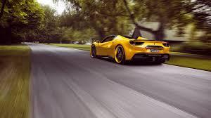 ferrari yellow ferrari 488 ferrari 488 spider ferrari yellow vehicle supercar