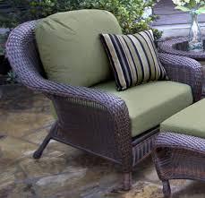 Outdoor Wicker Chair With Ottoman Lexington 2 Piece Premium Quality Wicker Furniture Chair U0026 Ottoman
