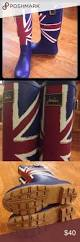 British Flag Boots Joules British Flag Rain Boots Size 7