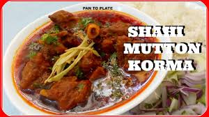 shahi mutton korma mutton korma mutton korma restaurant style