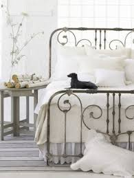 wood and wrought iron headboards open travel