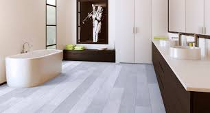 Painting Laminate Floors Astonishing Grey Laminate Flooring Applied At Contemporary Bedroom