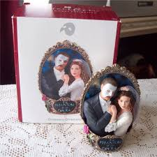 first in the phantom of the opera series carlton ornament 2007