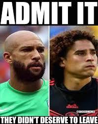 Ochoa Memes - soccer memes on twitter howard ochoa both did amazing this