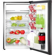 magic chef 4 4 cu ft mini fridge black mcbr440b2 best buy