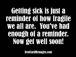 card for sick person get well card messages