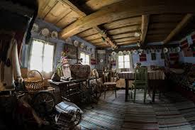 house lens interior of traditional romanian house stock image image of