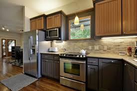 Two Color Kitchen Cabinet Ideas by Kitchen Cabinets Two Tone Cabinet Painting Two Tone Kitchen Cabinets