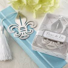 bookmark favors fleur de lis bookmark favors bridal shower gifts ewfa004 as low as