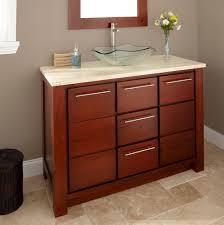 Orange Bathroom Vanity 48 Bathroom Vanity With Offset Sink Home Design Ideas