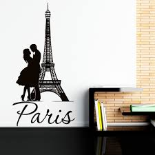 Bedroom Wall Stickers Uk Eiffel Tower Wall Decal Paris Wall Decals Vinyl Stickers Paris