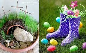 outdoor easter decorations outdoor easter decorations 15 colorful ideas houz buzz