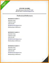 Maiden Name On Resume 100 References On Resumes How To Format References On A Resume