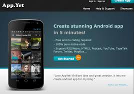 my android apps 3 popular website to create android apps yourself