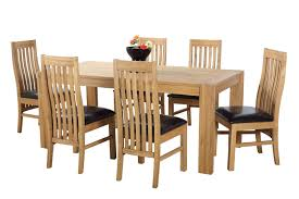 Oak Dining Room Table Sets Dining Room Oak Expandable Dining Table Set With Rectangle Table