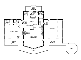 salmon bay luxury log home plan 073d 0030 house plans and more