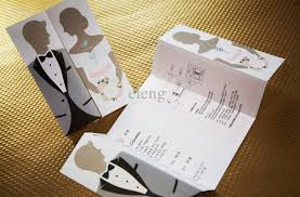 unique wedding invites innovative unique wedding invitation cards creative