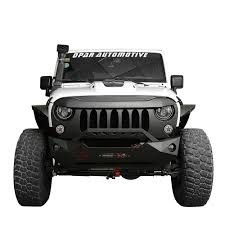 jeep wrangler matte black paintable front matte black demon grill grille for jeep wrangler
