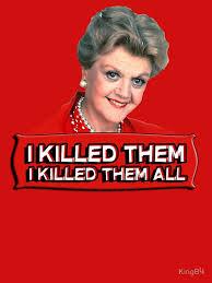 Angela Lansbury Meme - angela lansbury jessica fletcher murder she wrote confession i