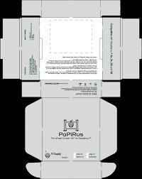 papirus packaging simple png