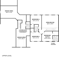 craftsman style house plan 4 beds 4 50 baths 2493 sq ft plan 56 584