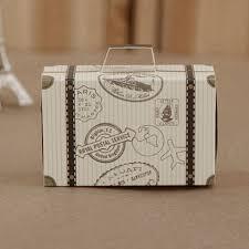 bonbonni re mariage 100 pcs mini valise kraft boîte de bonbons bonbonnière cadeau