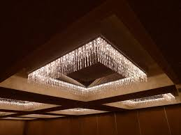 Ballroom Chandelier Great Low Profile Chandelier With Lots Of Sparkle And