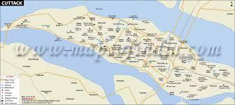 Map Distance Calculator Cuttack City Map