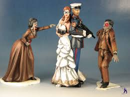 marine wedding cake toppers wedding cake toppers vs zombies archive bols lounge