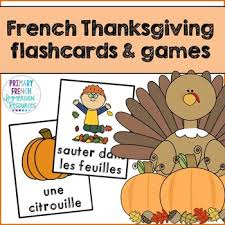 thanksgiving flashcards vocabulary l