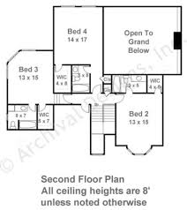 2nd floor house plan cramillion traditional house plans luxury house plans