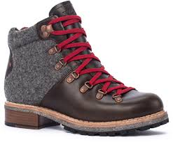 buy hiking boots near me woolrich rockies leather hiking boot in salt marsh ash with
