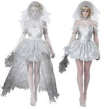 Masquerade Dresses Halloween Costume Corpse Bride Cosplay Wedding Dress 2015 Halloween Costumes