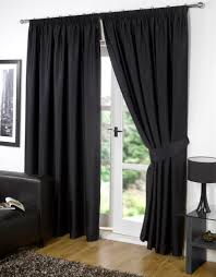 Blackout Window Curtains Decoration Ideas Inspiring Home Interior Decoration With Black
